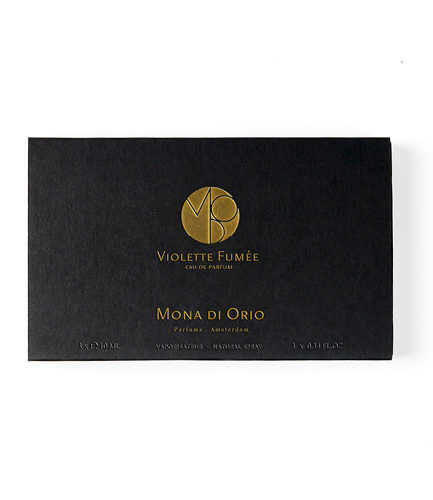 Mona di Orio Violette Fumee 3 x 10ml travel vaporisateur
