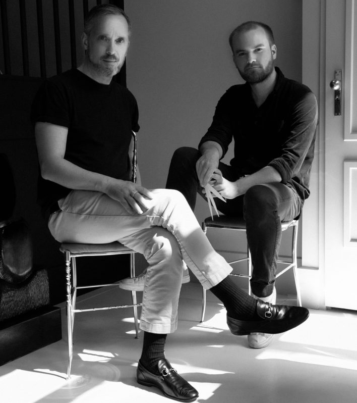 CEO Creative Director Jeroen Oude Sogtoen and In House Perfumer Fredrik Dalman